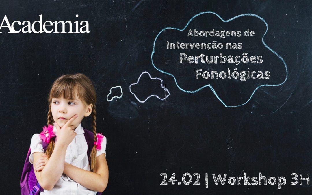 Workshop | Análise de Casos Cínicos De Crianças Com Perturbação Fonológica