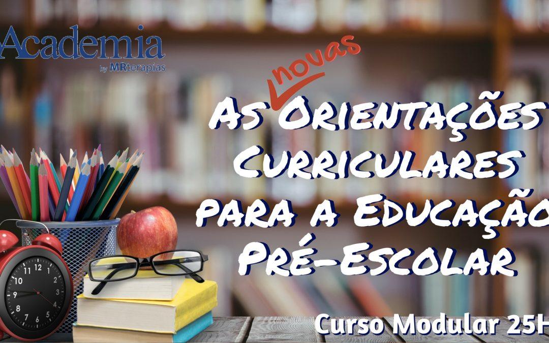 Curso de Modular 25H |  Orientações Curriculares para a educação pré-escolar