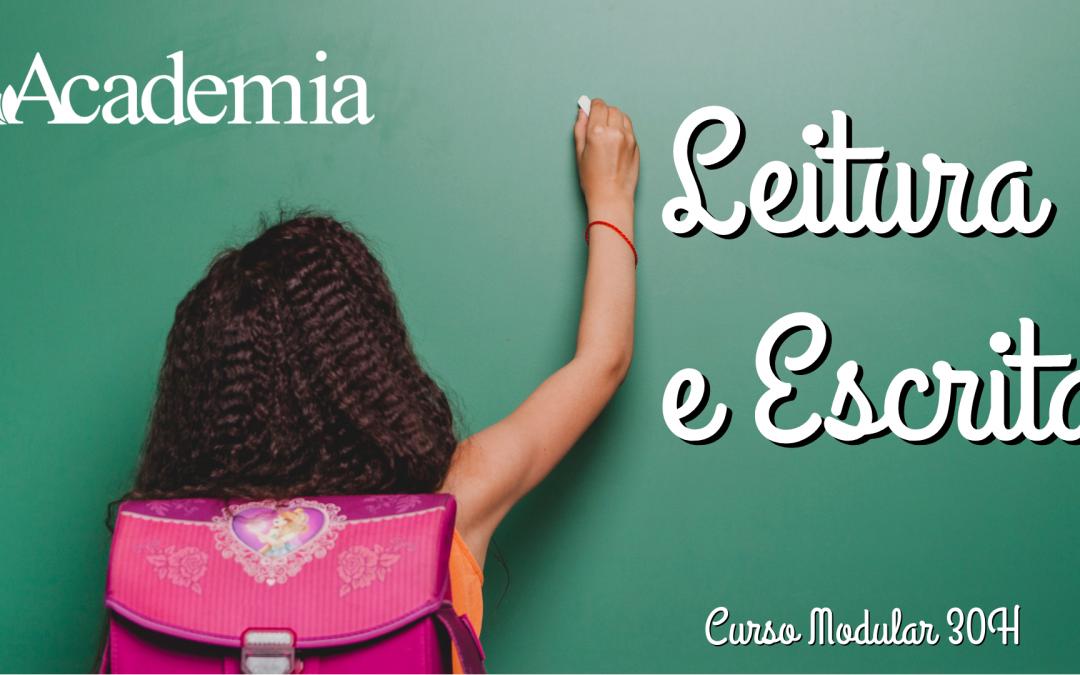LEITURA E ESCRITA | CURSO 30H MODULAR