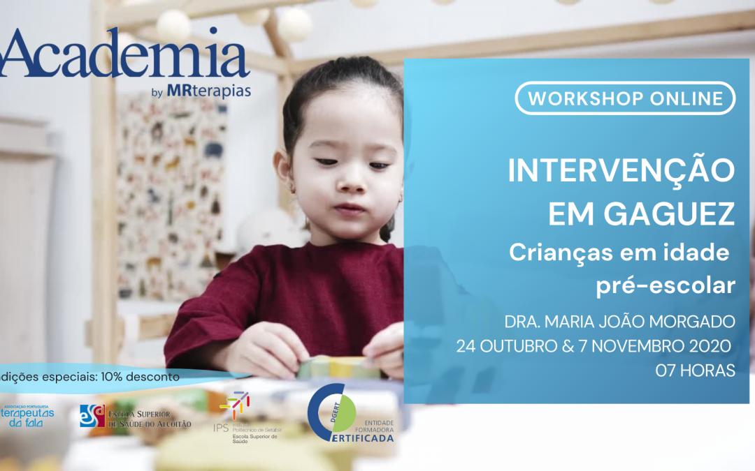Intervenção em Gaguez – Crianças em idade pré-escolar